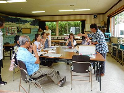 夏休みオカリナ教室