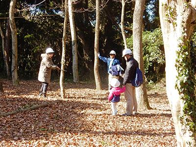 森の林業体験