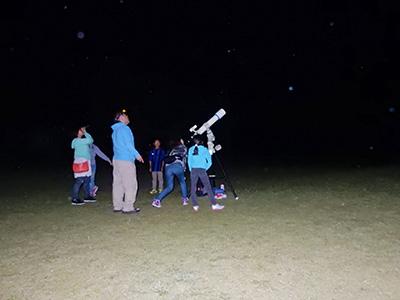 秋の星空観察会